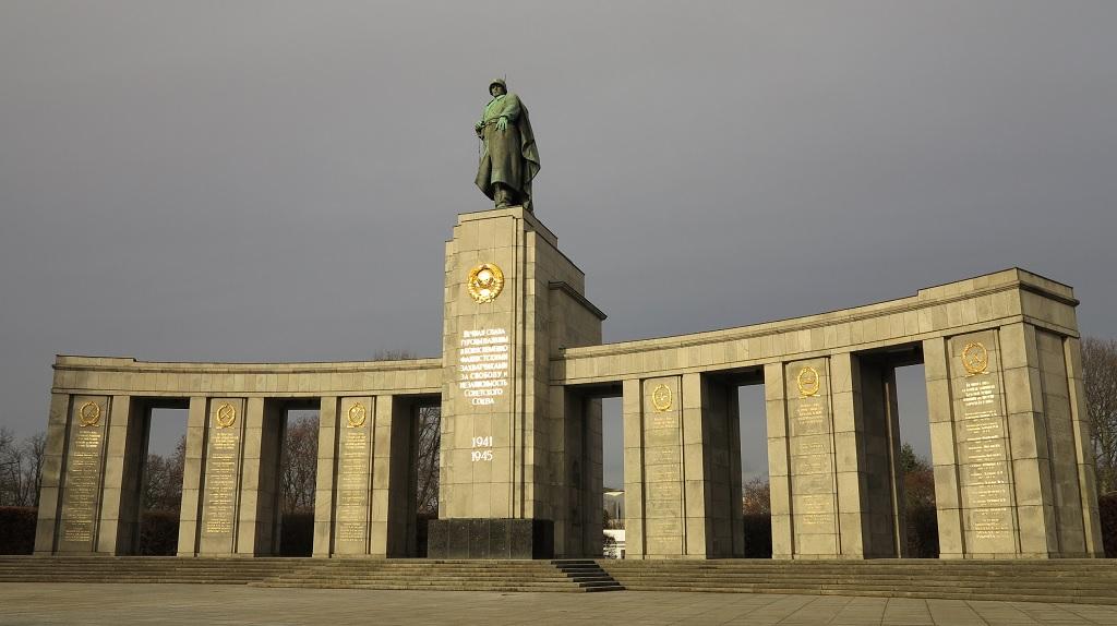 Берлин, памятник воинам-победителям