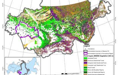 ГИС-подход к оценке наземной транспортной доступности лесных ресурсов