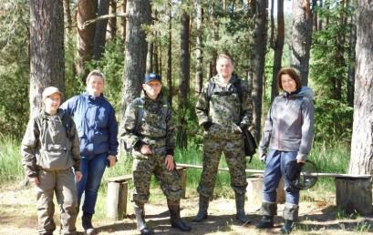 Экспедиция сотрудников ЦЭПЛ РАН в НП «Смоленское Поозерье»