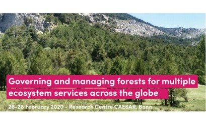 "Conference ""Governing and managing forests for multiple ecosystem services across the globe"""