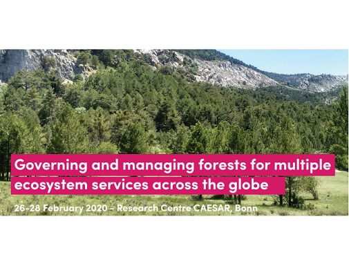 """Conference """"Governing and managing forests for multiple ecosystem services across the globe"""""""