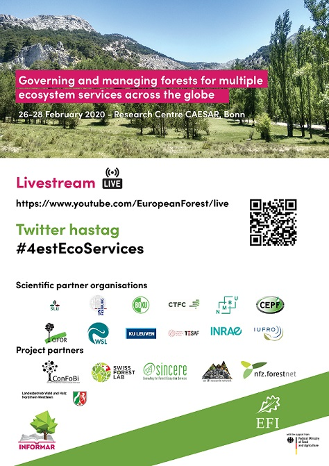 Conference Poster_Governing and managing forests for multiple ecosystem services_min